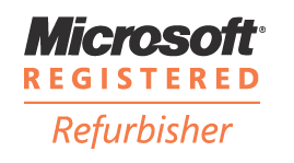 Microsoft Registered Refurbisher logo